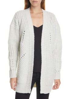 IRO Vesna Metallic Wool Blend Cardigan