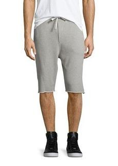 Iro Vlad Drawstring Cutoff Sweat Shorts