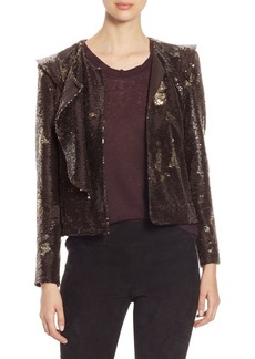 IRO Waklyn Sequin Jacket