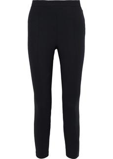 Iro Woman Anama Zip-detailed Wool-blend Slim-leg Pants Black