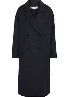 Iro Woman Bandy Oversized Double-breasted Wool-blend Felt Coat Dark Gray