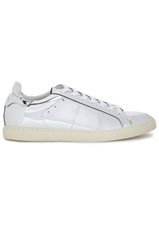 Iro Woman Basic Mirrored-leather Sneakers Silver