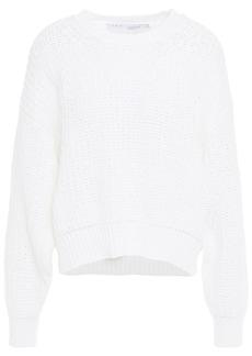 Iro Woman Baxter Cotton-blend Sweater White
