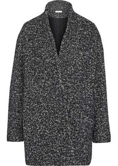 Iro Woman Bouclé-tweed Coat Charcoal