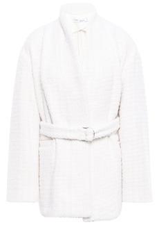 Iro Woman Cotton-blend Bouclé-tweed Coat Ivory