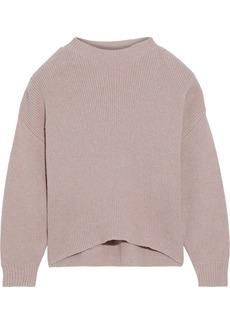 Iro Woman Ground Cotton-blend Sweater Blush