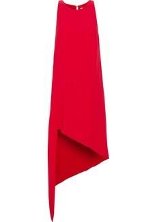 Iro Woman Hamlin Asymmetric Crepe Dress Red
