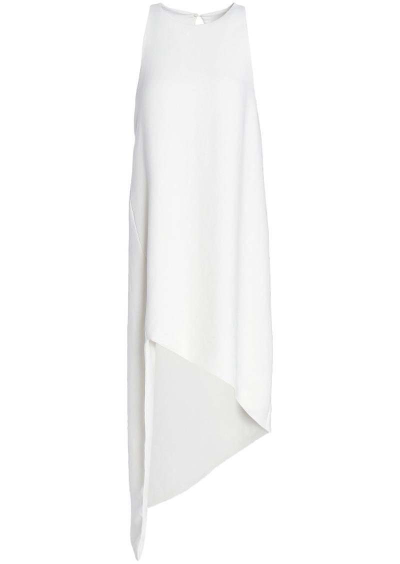Iro Woman Hamlin Asymmetric Crepe Dress White