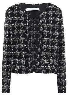 Iro Woman Hope Houndstooth Tweed Jacket Black