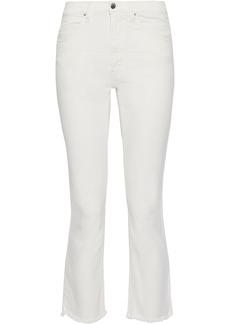 Iro Woman Jula High-rise Kick-flare Jeans Off-white