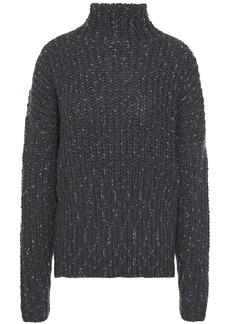 Iro Woman Kellers Metallic Knitted Turtleneck Sweater Anthracite