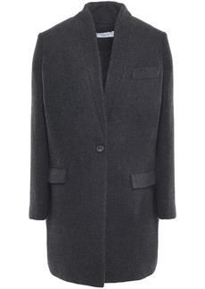 Iro Woman Lennya Wool-blend Coat Charcoal