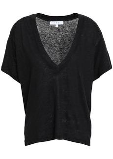 Iro Woman Linen-jersey T-shirt Black