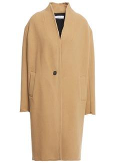Iro Woman Malara Wool-blend Felt Coat Camel