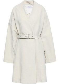 Iro Woman Belted Twill Coat Ecru