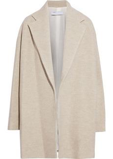 Iro Woman Mineri Wool-felt Coat Light Gray