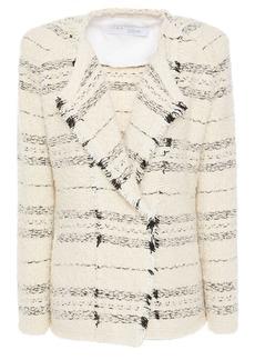 Iro Woman Nine Frayed Bouclé-tweed Jacket Cream