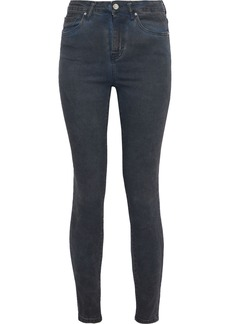 Iro Woman Ray High-rise Skinny Jeans Dark Denim