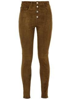 Iro Woman Sakko Stretch-suede Skinny Pants Light Brown