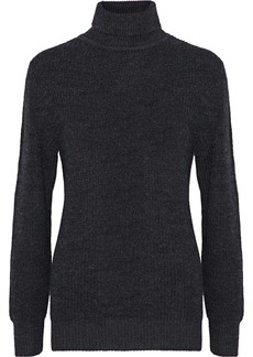 Iro Woman Saraje Knitted Turtleneck Sweater Dark Gray