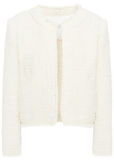Iro Woman Saussan Metallic Cotton-blend Tweed Jacket Ivory