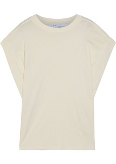 Iro Woman Sparks Cotton-jersey T-shirt Beige