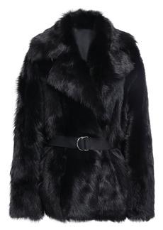 Iro Woman Toskan Reversible Shearling Coat Black