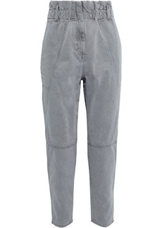 Iro Woman Vilette High-rise Tapered Jeans Gray