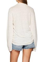 IRO Women's Alety Linen Lace-Up T-Shirt