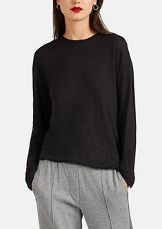 IRO Women's Bistrita Linen Asymmetric T-Shirt