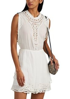 IRO Women's Caidy Embroidered Crepe Dress