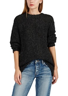 IRO Women's Crema Tie-Back Bouclé Sweater