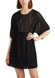 IRO Women's Dotile Textured Chiffon Dress