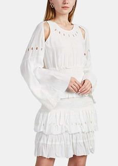 IRO Women's Jedway Ruffle Crepe Dress