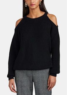 IRO Women's Lineisy Cold-Shoulder Rib-Knit Sweater