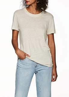 IRO Women's Lymann Distressed Linen T-Shirt