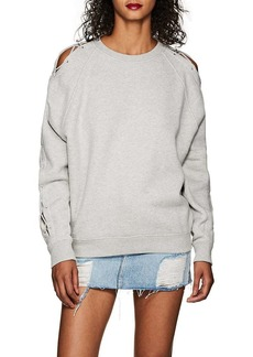 IRO Women's Nakina Lace-Up Cotton Sweatshirt