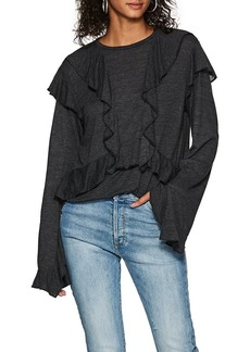 IRO Women's Nampa Ruffled Jersey Top