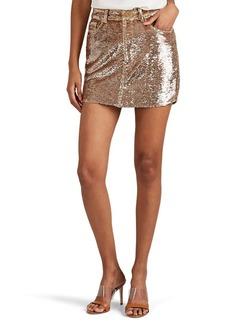 IRO Women's Obospe Embellished Miniskirt
