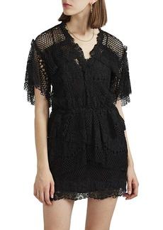 IRO Women's Penny Cotton-Blend Lace Dress