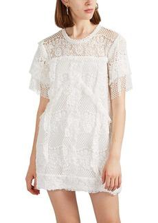 IRO Women's Pike Cotton-Blend Lace Shift Dress