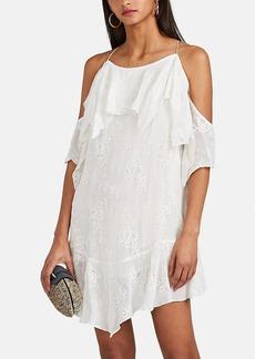 IRO Women's Sabel Embroidered Cold-Shoulder Dress