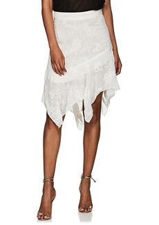 IRO Women's Sadela Embroidered Georgette Skirt