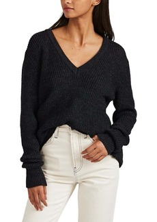 IRO Women's Sadova Mélange V-Neck Sweater