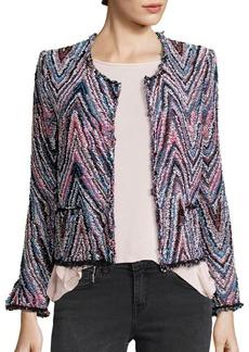 IRO Zigzag Tweed Jacket