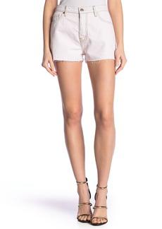 IRO Jans Button Fly Denim Shorts
