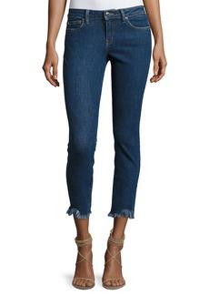 IRO Jarod Cropped Mid-Rise Skinny Jeans  Blue
