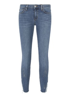 IRO Jarod Distressed Crop Skinny Jeans