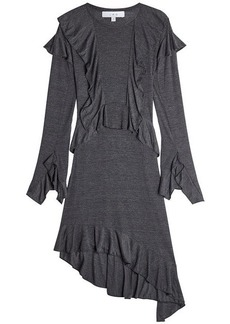 IRO Jersey Dress with Ruffles