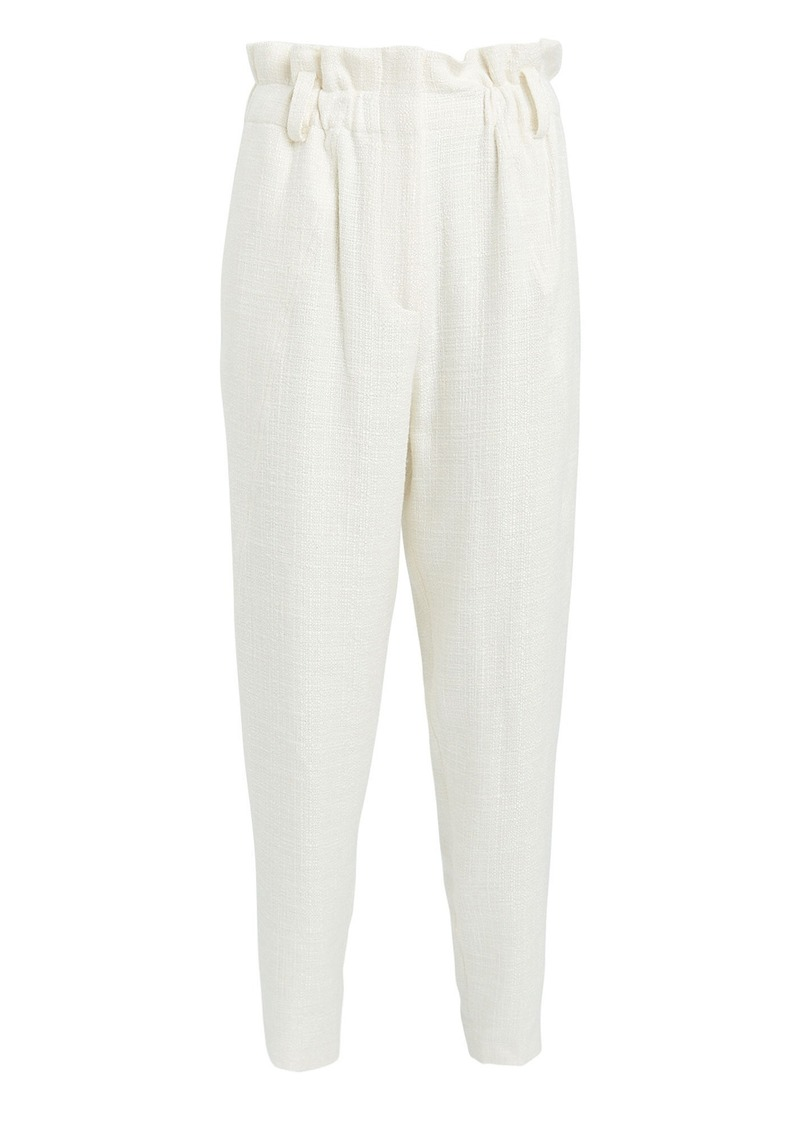 IRO Kaly Cropped Paperbag Trousers